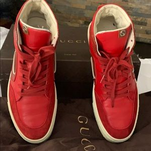 Men's Gucci sneakers. Size 10.5